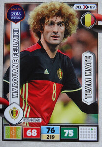 ROAD TO RUSSIA 2018 TEAM MATE BELGIA  FELLAINI 09