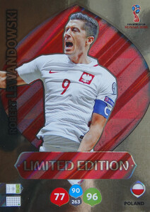 WORLD CUP RUSSIA 2018 LIMITED POLSKA Robert Lewandowski