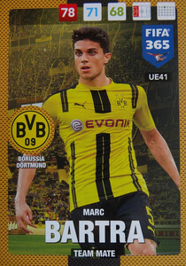 UPDATE 2017 FIFA 365 TEAM MATE MARC BARTRA #41
