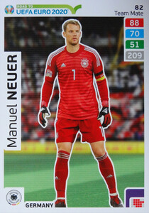 ROAD TO EURO 2020 TEAM MATE Manuel Neuer 82