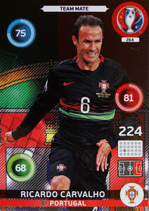 EURO 2016 TEAM MATE Ricardo Carvalho #264
