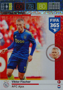 2016 FIFA 365 ONE TO WATCH Viktor Fischer #156