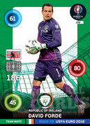 ROAD TO EURO 2016 TEAM MATE David Forde #109