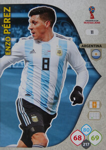 WORLD CUP RUSSIA 2018 ARGENTYNA TEAM PEREZ 11