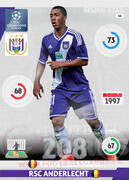 2014/15 CHAMPIONS LEAGUE® RISING STAR  Youri Tielemans #44