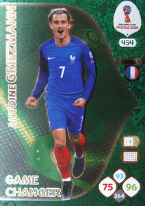 WORLD CUP RUSSIA 2018 GAME CHANGER GRIEZMANN 454