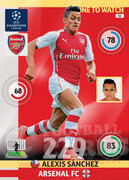 2014/15 CHAMPIONS LEAGUE® ONE TO WATCH  Alexis Sánchez #52