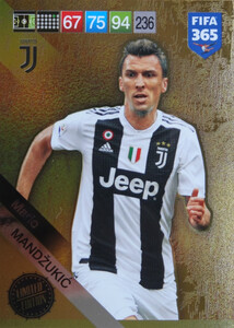 2019 FIFA 365 UPDATE LIMITED EDITION MANDZUKIC