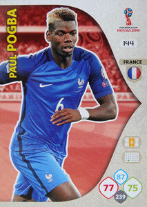 WORLD CUP RUSSIA 2018 TEAM MATE FRANCJA POGBA 144