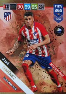 2019 FIFA 365  DEFENSIVE ROCK GIMENEZ 308