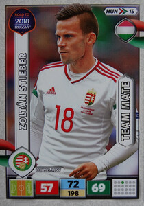 ROAD TO RUSSIA 2018 TEAM MATE WĘGRY STIEBER 15
