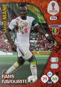 WORLD CUP RUSSIA 2018 FANS FAVOURITE MANE 394