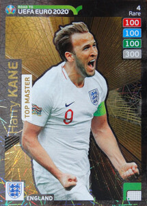 ROAD TO EURO 2020 RARE TOP MASTER KANE 4