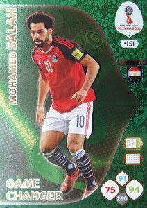 WORLD CUP RUSSIA 2018 GAME CHANGER SALAH 451