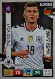 ROAD TO RUSSIA 2018 FIFA TEAM NIEMCY  KROOS 08