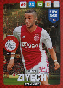 UPDATE 2017 FIFA 365 TEAM MATE HAKIM ZIYECH #67