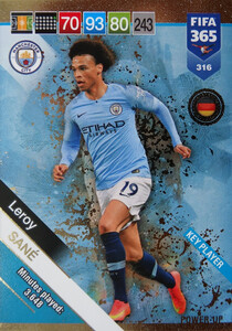 2019 FIFA 365  KEY PLAYER SANE 316