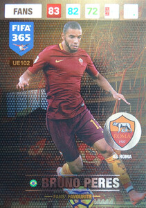 UPDATE 2017 FIFA 365 FANS' FAVOURITE BRUNO PERES #102