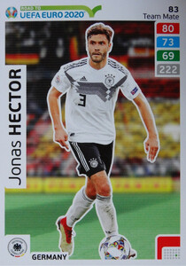 ROAD TO EURO 2020 TEAM MATE Jonas Hector 83