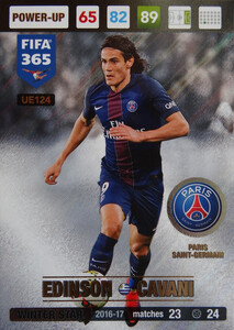 UPDATE 2017 FIFA 365 WINTER STAR EDINSON CAVANI #124