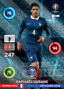 ROAD TO EURO 2016 DEFENSIVE ROCK Raphaël Varane #321