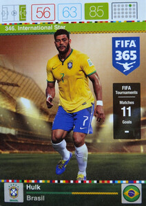 2016 FIFA 365 INTERNATIONAL STAR Hulk #346
