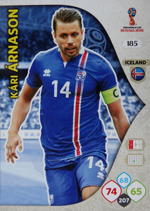 WORLD CUP RUSSIA 2018 TEAM MATE ISLANDIA ARNASON 185