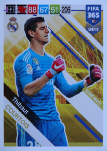 UPDATE 2019 FIFA 365 TEAM MATE Thibaut Courtois #UE13