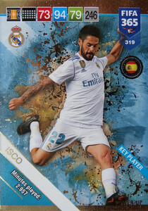 2019 FIFA 365  KEY PLAYER ISCO 319