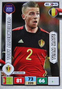 ROAD TO RUSSIA 2018 TEAM MATE BELGIA  ALDERWEIRELD 03