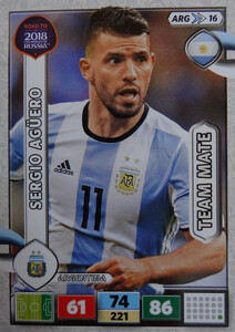 ROAD TO RUSSIA 2018 TEAM MATE ARGENTYNA AGUERO 16