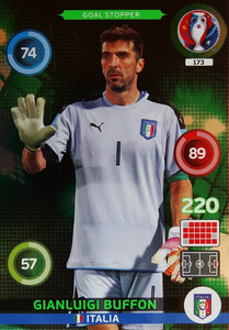 EURO 2016 GOL STOPPER Gianluigi Buffon #173