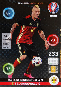 EURO 2016 TEAM MATE / KEY PLAYER Radja Nainggolan #35