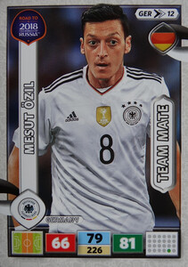 ROAD TO RUSSIA 2018 TEAM  MATE NIEMCY OZIL 12