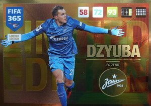 UPDATE 2017 FIFA 365 LIMITED DZYUBA