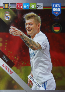 2019 FIFA 365 GERMAN STAR Toni Kroos #400
