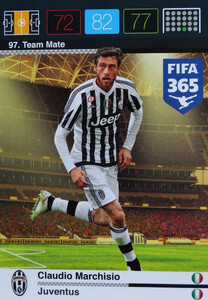 2016 FIFA 365 TEAM MATE JUVENTUS Claudio Marchisio #97