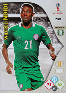 WORLD CUP RUSSIA 2018 TEAM MATE NIGERIA NDIDI 240
