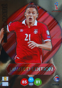 WORLD CUP RUSSIA 2018 LIMITED  SERBIA Nemanja Matic