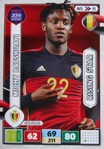 ROAD TO RUSSIA 2018 RISIN STAR BELGIA BATSHUAYI 15