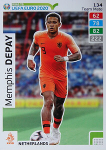 ROAD TO EURO 2020 TEAM MATE Memphis Depay 134