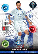 ROAD TO EURO 2016 TEAM MATE José Holebas #92