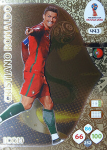 WORLD CUP RUSSIA 2018 ICON PORTUGALIA RONALDO 443