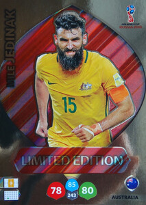 WORLD CUP RUSSIA 2018 LIMITED AUSTRALIA Mile Jedinak
