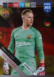 2019 FIFA 365 GERMAN STAR Marc-Andre ter Stegen #399