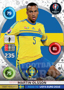 ROAD TO EURO 2016 FANS FAVOURITE Martin Olsson #304