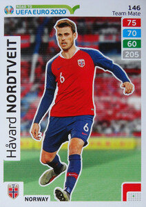 ROAD TO EURO 2020 TEAM MATE Håvard Nordtveit 146
