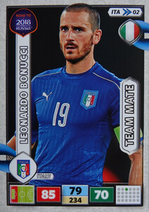 ROAD TO RUSSIA 2018 FIFA TEAM MATE WŁOCHY  BONUCCI  02