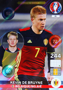 EURO 2016  ONE TO WATCH Kevin De Bruyne #41