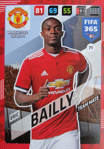 2018 FIFA 365 TEAM MATE Eric Bailly #71